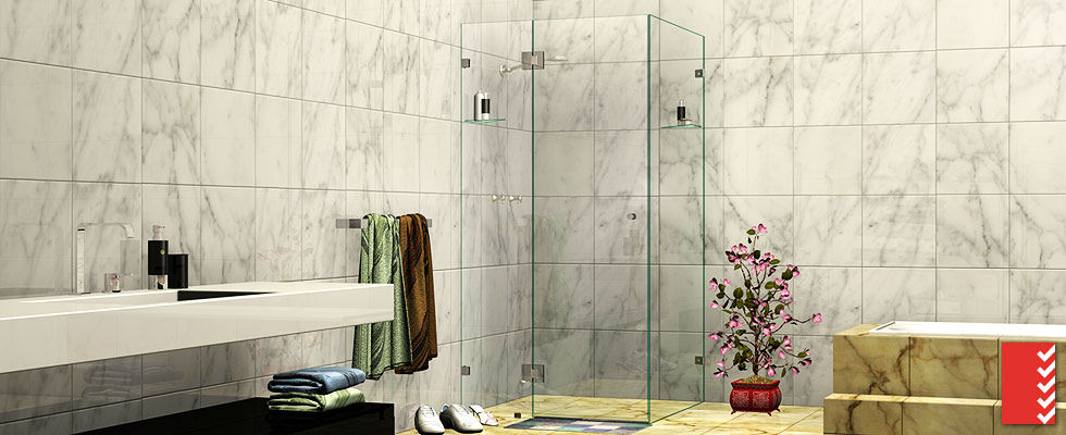 ES Corner Shower Screens