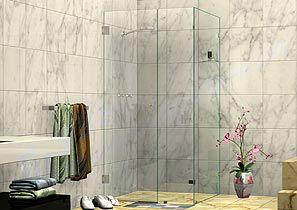 NS Corner Shower Screens