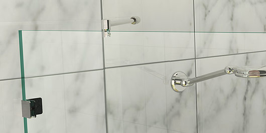 Merveilleux ... Includes: 1x 45° Wall Mount, 1x Glass Clamps, 1x Rod 575mm Long.