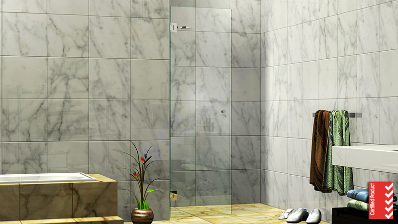Single Door Shower Screen