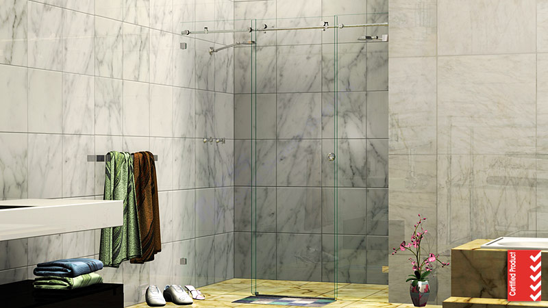 Wall to Wall Sliding Shower Screen