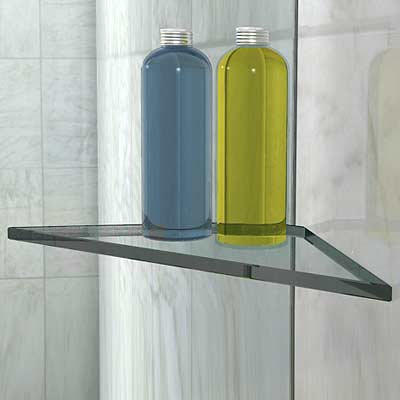 Shower Screen Glass Shelf