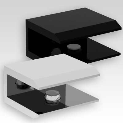 Shower Screen Glass Shelf Bracket Support