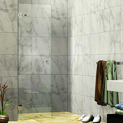 Single Wall Mounted Door Shower Screen