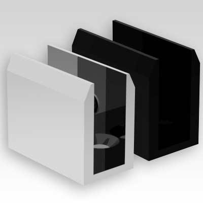 Shower Screen U-Shape Floor Bracket