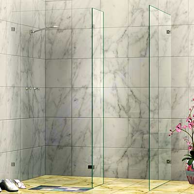 Frameless Walk In Shower Screen
